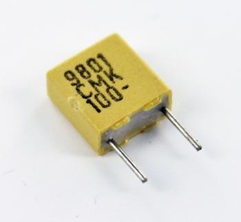 0.047uF 100V Polycarbonate Film Box Capacitor CMK5473K100L4 Evox