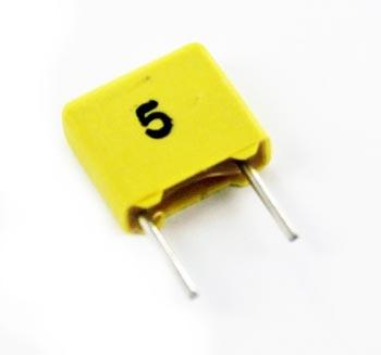 0.0015uF 100V Polycarbonate Film Foil Capacitors FKC2 WIMA