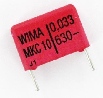 0.033uF 630V Polycarbonate Film Box Capacitor MKC10 WIMA