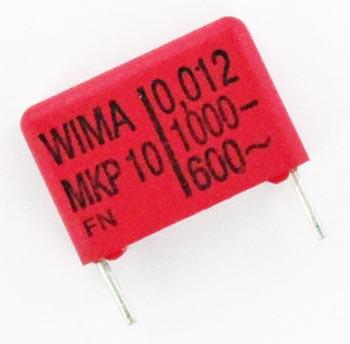 0.012uF 1000V Polypropylene Film Box Capacitor MKP10 WIMA