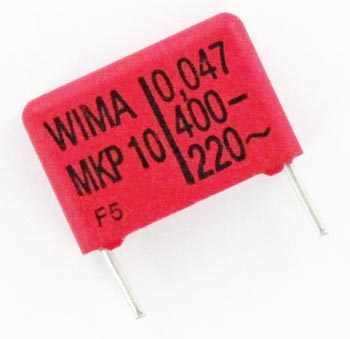 0.047uF 400V Metallized Polypropylene Box Capacitor MKP10 WIMA