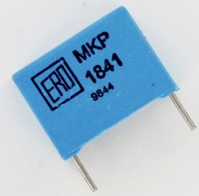 0.022uF 630V Polypropylene Capacitor MKP1841322634 ERO Vishay Roederstein