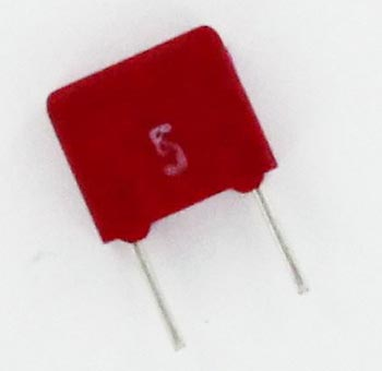 0.1uF 63V Polyester Film Box Capacitor MKS2C031001A00J WIMA