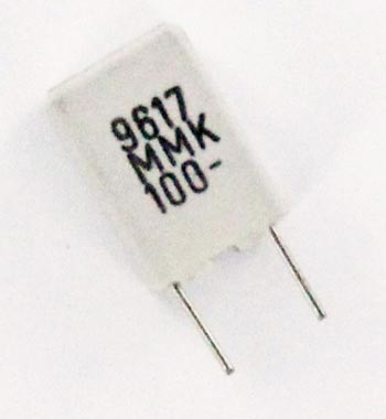 0.33uF 100V Polyester Film Box Capacitor MMK5334M100L4 Evox