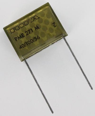 0.47uF 250VAC X2 Paper Suppression Capacitor Evox Rifa PME271M647K