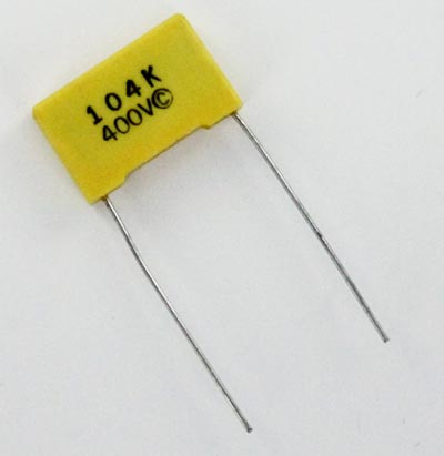 0.1uF .1uF 400V Metallized Polyester Film Box Capacitor RFE