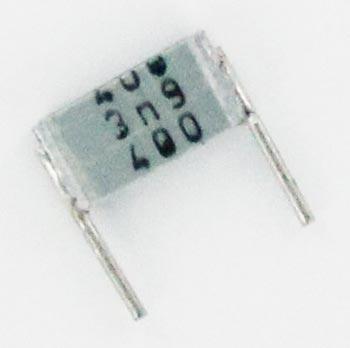 0.0039uF 400V Metallized Polyester Box Capacitor B32560J6392J Epcos