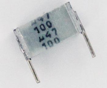 0.47uF 100V Polyester Film Box Capacitor B32561J1474J Epcos