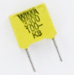 0.0033uF 3300pF 100V Polycarbonate Film Foil Capacitor FKC2 WIMA