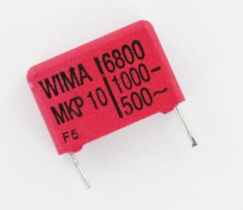 6800pF 1000V Polypropylene Pulse Box Capacitor MKP10 WIMA