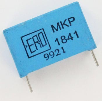 0.022uF 1600V Polypropylene Film Box Capacitor MKP1841322134 ERO Vishay
