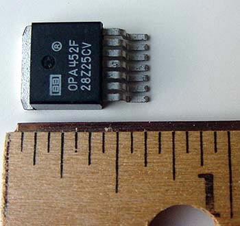Texas Instruments® High Current Op Amp  OPA452F Op Amps