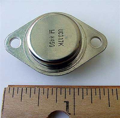 UC317K  317K Adjustable Voltage Regulator
