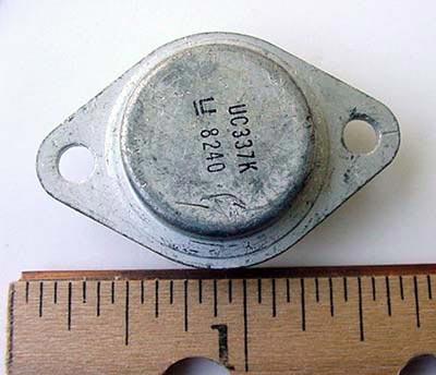 UC337K UC337 Negative Adjustable Voltage Regulators T03