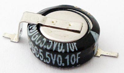 0.1F 5.5V Memory Backup Capacitor Panasonic EECS0HD104