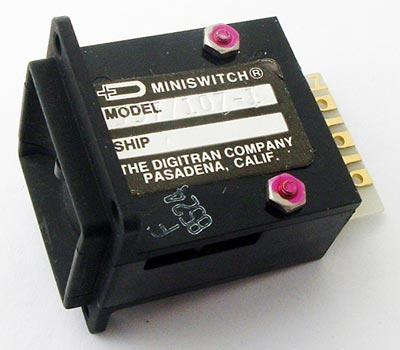 757⁄107-1 Switch Code Indicating Wheel DigiTran