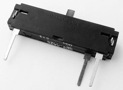 4K to 5K ohm Malloslide Audio Slide Potentiometer Mallory