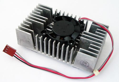 12V .11A Axial Flow Fan with Heatsink Uniave A0410N-12HW