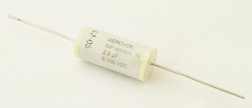 2.2uF 200V Axial Film Capacitor Aerovox AREM22520JMK0AS