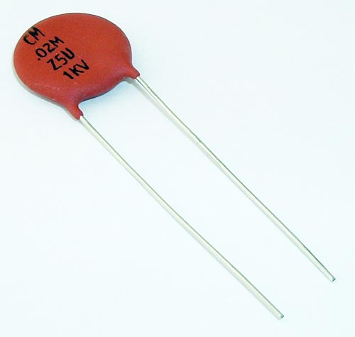 .02uF 1000V Ceramic Disc Capacitor Vishay 562R5GAS20