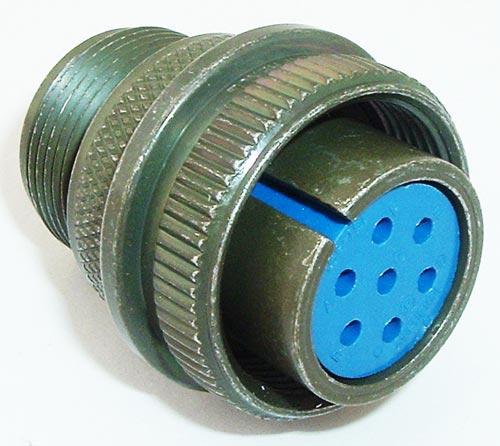 97-3106A-16S-1S Circular Connector Plug Military 5015 Amphenol