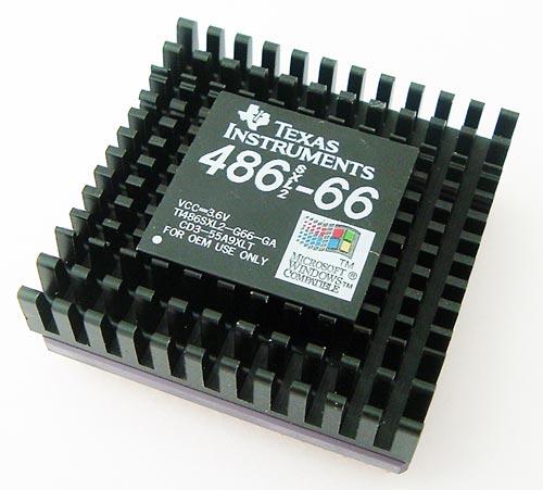 TI486SXL2-G66-GA 486SXL2-66 486 Processor TI