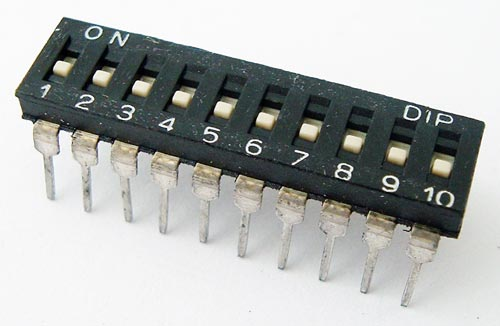 10 Position DIP Switch Alco
