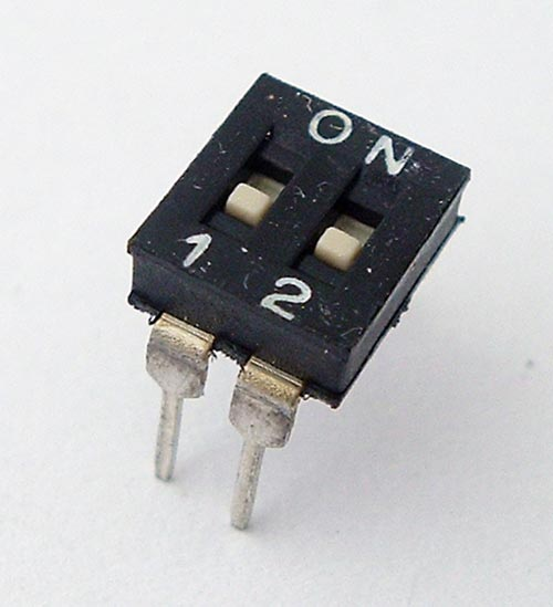 2 Position DIP Switch Alco