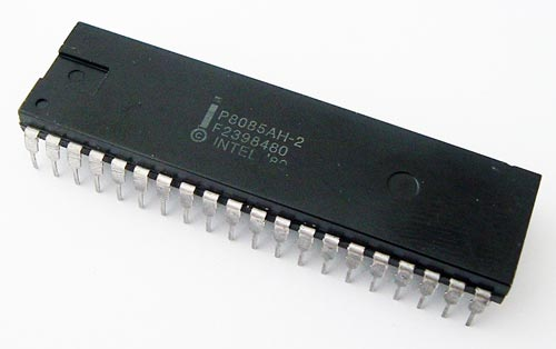 P8085AH-2 Socket Pull 8-Bit Microprocessor IC Intel