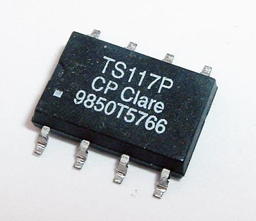 120mA 350V 35 ohm 1-Form-A Relay Clare TS117P