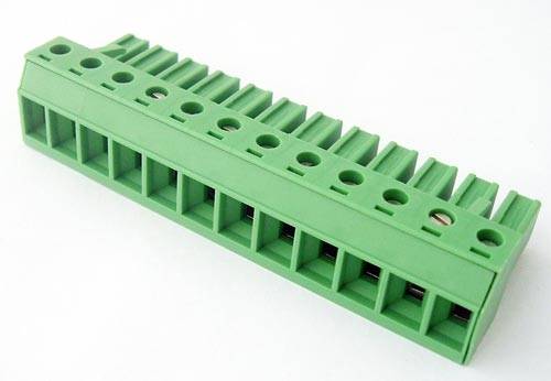 12 position 20A Terminal Block Plug Connector Phoenix Contact 1805000
