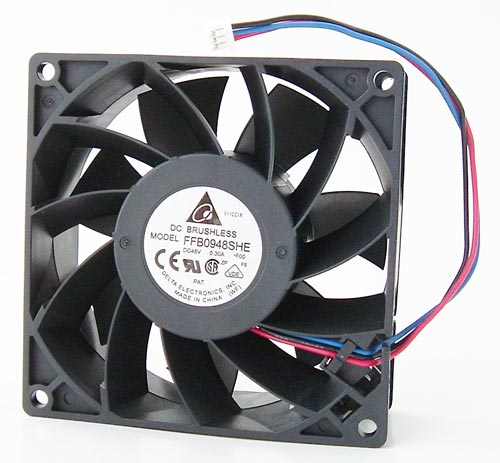 48V .30A DC Brushless Cooling Fan 92mm Delta FFB0948SHE