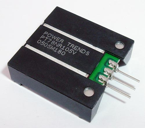 PT78NR105V 1A -5V Integrated Switching Regulator ISR Power Trends