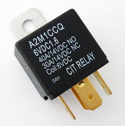 40A 6V Relay CIT A2M1CCQ6VDC1.6