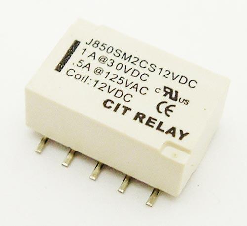 1A 12V Surface Mount Relay CIT J850SM2CS12VDC