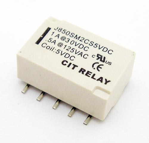1A 5V Surface Mount Relay CIT J850SM2CS5VDC