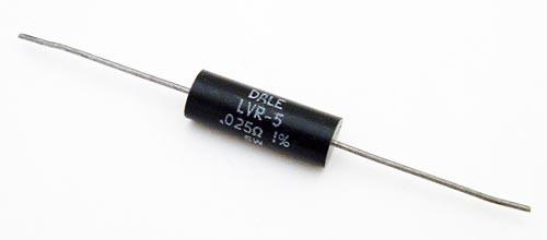 5W 0.025 ohm .025 ohm Wirewound Resistor Dale LVR05R0250FR55