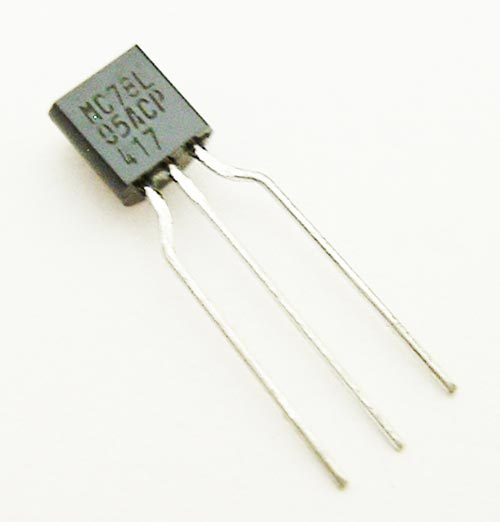 78L05 MC78L05ACPRA 100mA 5V Positive Voltage Regulator