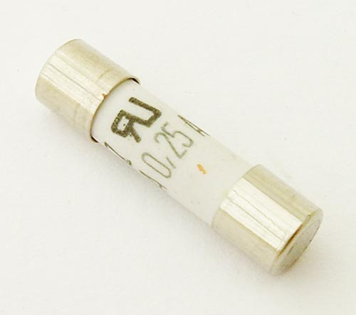 G084002P 250mA 250 VAC Fast Acting Ceramic Cartridge Fuse Ferraz