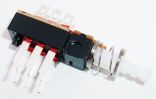 Push Button DPDT Latching Switch 1A 28V CIT DL2LEQ