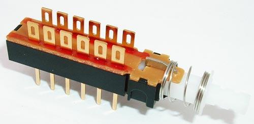 Pushbutton 4PDT Momentary Switch .4VA 20V CIT DL4NAR