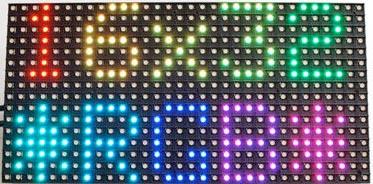Raspberry Pi Lights up an RGB LED Matrix Panel - West