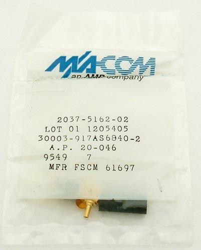 2037-5162-02 30003-917AS6840-2 Coaxial Connector MA-COM