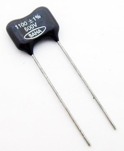1100pF 500V 1% Radial Dipped Mica Capacitor DM19FD112F SAHA