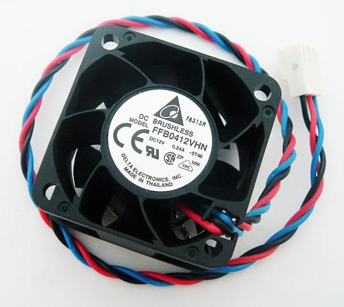 12V 0.16 A Brushless Axial Flow Fan Delta FFB0412VHN