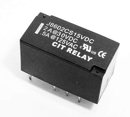 2A 15VDC 60W Relay CIT J8602CS15VDC