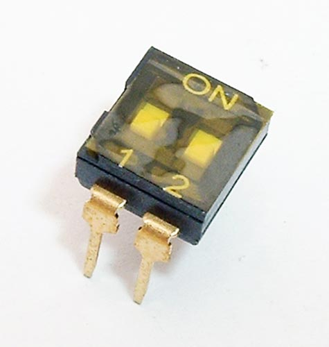 2 Position DIP Switch CIT KT02RTH