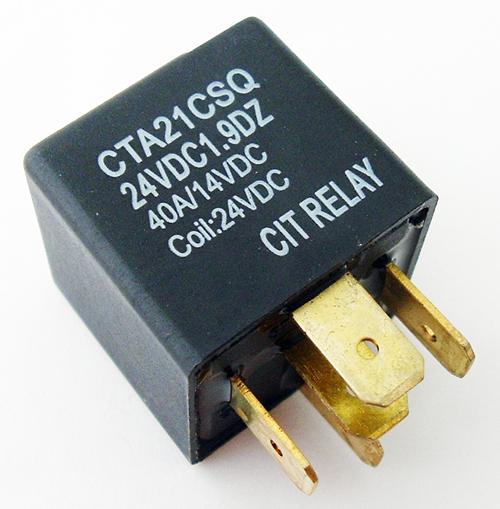 40A 24VDC SPDT Relay CIT CTA21CSQ24VDC1.9D