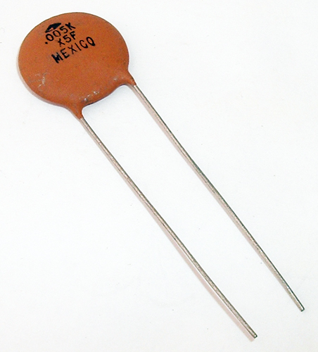 Uf v ceramic disc capacitor centralab ddh l kaf