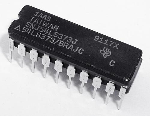 SN54LS373J  54LS373/BRAJC Octal D Flip Flop IC Texas Instruments